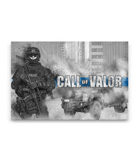 Call Of Valor Canvas Decor ViralStyle Premium OS Canvas - Landscape 18x12*