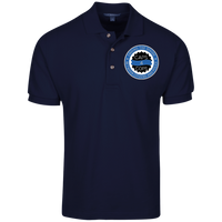 Caps 4 Cops Cotton Knit Polo Polo Shirts Navy S