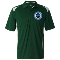 Caps 4 Cops Premier Sport Shirt Polo Shirts Dark Green/White S