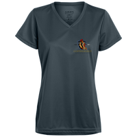 Coppershield 1790 Augusta Ladies' Wicking T-Shirt T-Shirts CustomCat Graphite X-Small