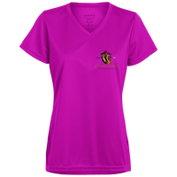 Coppershield 1790 Augusta Ladies' Wicking T-Shirt T-Shirts CustomCat Power Pink X-Small