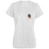Coppershield 1790 Augusta Ladies' Wicking T-Shirt T-Shirts CustomCat White X-Small