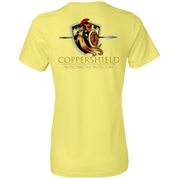 Coppershield 880 Anvil Ladies' Lightweight T-Shirt 4.5 oz T-Shirts CustomCat