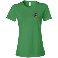 Coppershield 880 Anvil Ladies' Lightweight T-Shirt 4.5 oz T-Shirts CustomCat Green Apple S