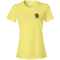 Coppershield 880 Anvil Ladies' Lightweight T-Shirt 4.5 oz T-Shirts CustomCat Spring Yellow S