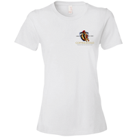 Coppershield 880 Anvil Ladies' Lightweight T-Shirt 4.5 oz T-Shirts CustomCat White S