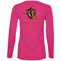Coppershield 884L Anvil Ladies' Lightweight LS T-Shirt T-Shirts CustomCat