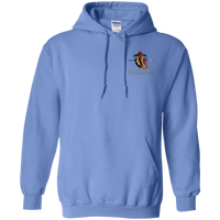 Coppershield G185 Gildan Pullover Hoodie 8 oz. Sweatshirts CustomCat Carolina Blue S