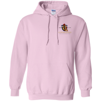 Coppershield G185 Gildan Pullover Hoodie 8 oz. Sweatshirts CustomCat Light Pink S