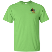 Coppershield G200 Gildan Ultra Cotton T-Shirt T-Shirts CustomCat Lime S