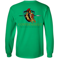 Coppershield G240 Gildan LS Ultra Cotton T-Shirt T-Shirts CustomCat