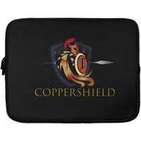 Coppershield Laptop Sleeve - 13 inch Laptop Sleeves CustomCat Black One Size