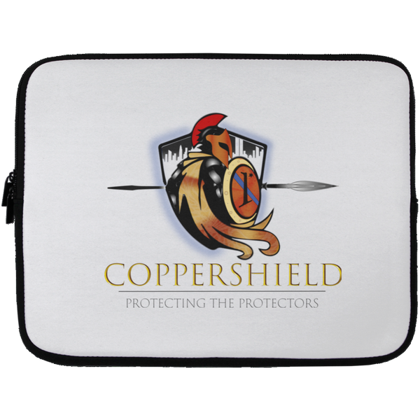 Coppershield Laptop Sleeve - 13 inch Laptop Sleeves CustomCat White One Size