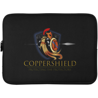 Coppershield Laptop Sleeve - 15 Inch Laptop Sleeves Black One Size