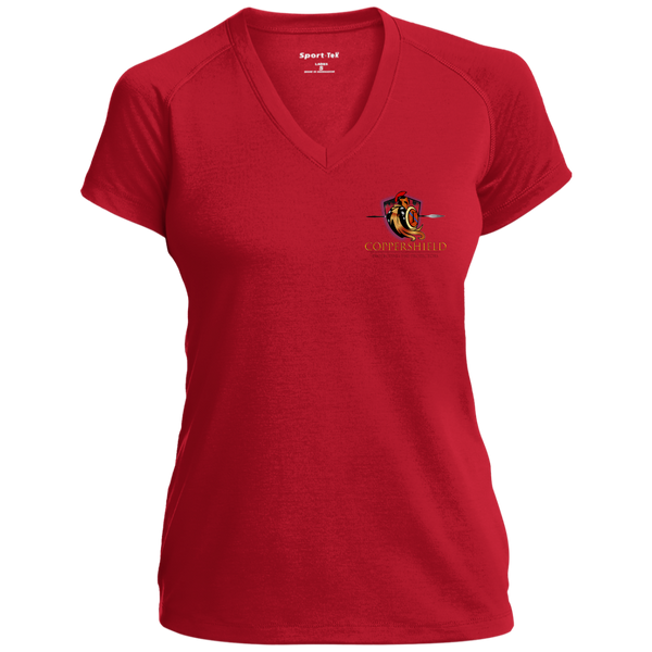 Coppershield LST700 Sport-Tek Ladies' Performance T-Shirt T-Shirts CustomCat True Red X-Small
