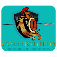Coppershield - Mousepad 7.75x9.25 inch