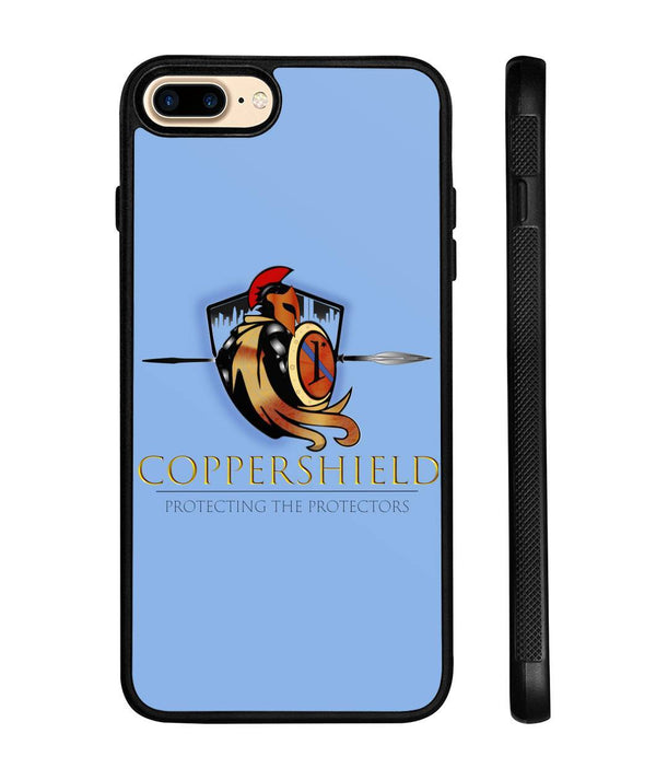 Coppershield Phone Case Phone Cases ViralStyle Light Blue iPhone 8+ Case