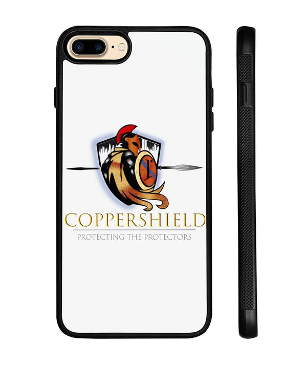 Coppershield Phone Case Phone Cases ViralStyle White iPhone 8+ Case