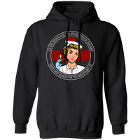 Cross Your Heart Nurse Hoodie Sweatshirts Black S