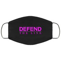 Defend The Line Pink Face Cover Accessories Black One Size