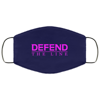 Defend The Line Pink Face Cover Accessories Navy One Size