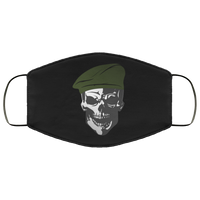 Defend The Line Veteran Face Cover Accessories Black One Size