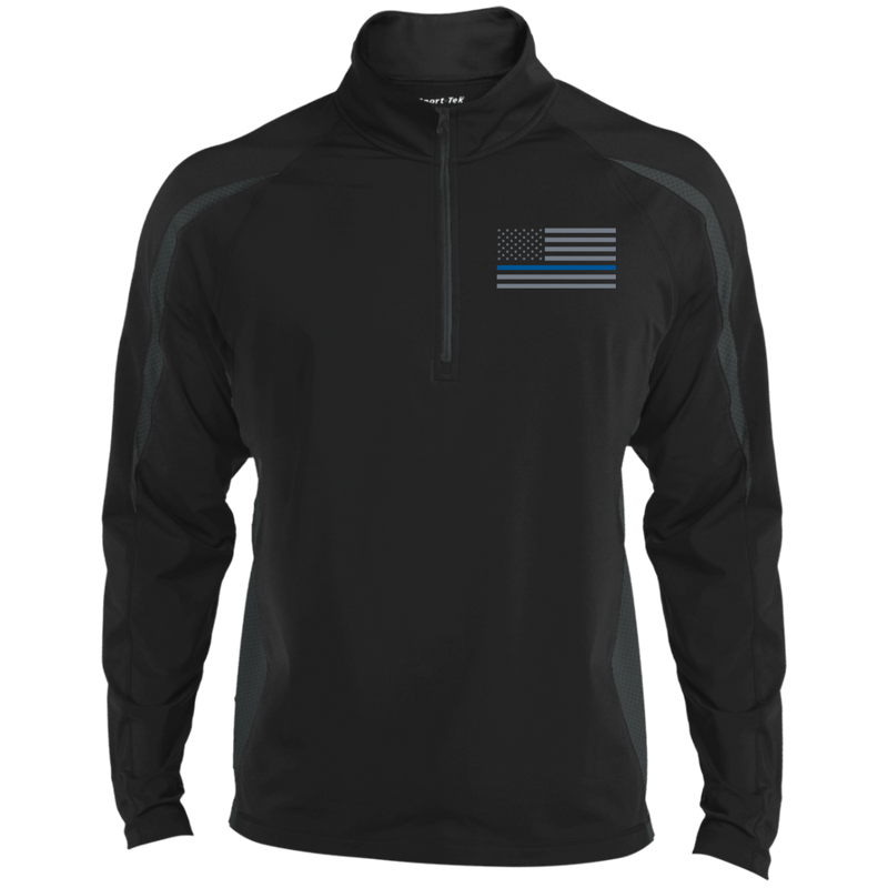 products/delta-ops-thin-blue-line-half-zip-sport-wick-apparel-st851-sport-tek-mens-sport-wicking-colorblock-12-zip-blackcharcoal-grey-x-small-341420.png