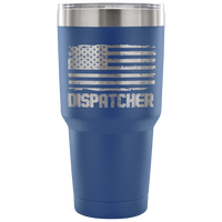 Dispatcher Tumbler Tumblers teelaunch 30 Ounce Vacuum Tumbler - Blue