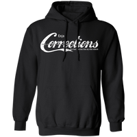 Enjoy The Corrections Hoodie Sweatshirts Black S