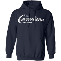 Enjoy The Corrections Hoodie Sweatshirts Navy S