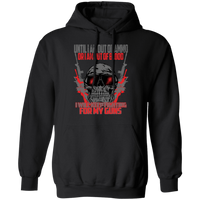 Fighting For My Guns Hoodie Sweatshirts Black S