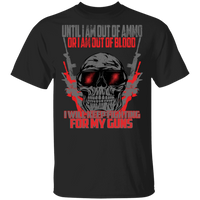 Fighting For My Guns T-Shirt T-Shirts Black S