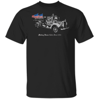 Firefighters Making House Calls Since 1853 Shirt T-Shirts Black S