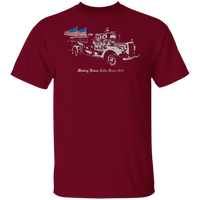 Firefighters Making House Calls Since 1853 Shirt T-Shirts Garnet S
