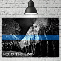 Hold The Line Canvas Decor ViralStyle
