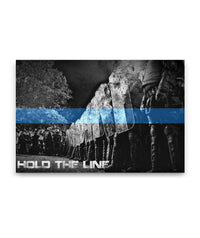 Hold The Line Canvas Decor ViralStyle Premium OS Canvas - Landscape 48x32*