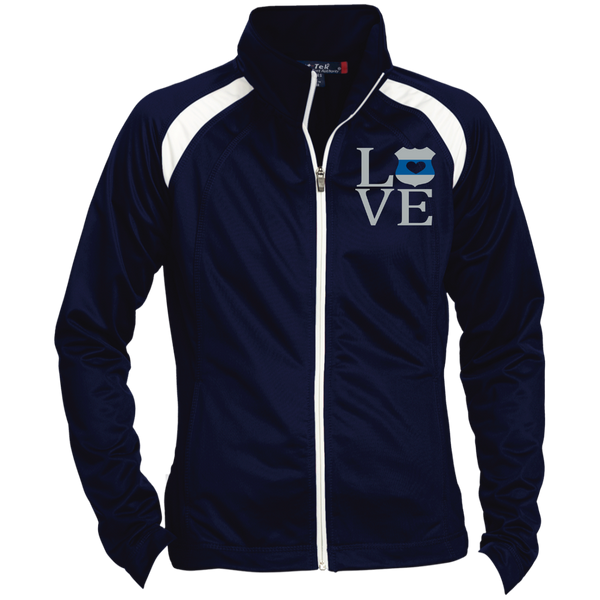 LEO Love Embroidered Jacket Jackets True Navy/White X-Small
