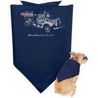 Making House Calls Since 1853 Doggie Bandana Pet Accessories Navy One Size
