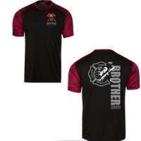 Men's Firefighter Brotherhood Athletic Shirt T-Shirts