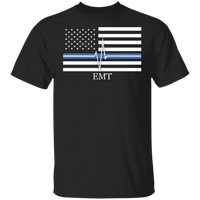 Men's Thin White Line EMT T-Shirt T-Shirts Black S