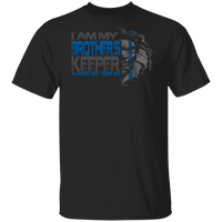 My Brother's Keeper Police Shirt T-Shirts Black S