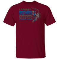My Brother's Keeper Police Shirt T-Shirts Garnet S