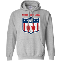 National Felon's League Hoodie Sweatshirts CustomCat Sport Grey Small