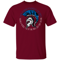 Not Ruled By Fear Shirt T-Shirts Garnet S