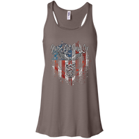 Nurses Got Your SIx Red-White-Blue Racerback Tank T-Shirts CustomCat Pebble Brown X-Small