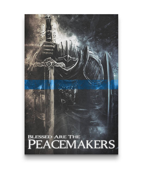 Peacemakers Knight Canvas Decor ViralStyle Premium OS Canvas - Portrait 12x18*