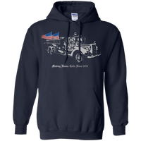 proto Making House Calls Since 1853 Hoodie Sweatshirts Navy S