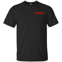 RED Remember Everyone Deployed Double-Sided T-Shirt T-Shirts CustomCat Black S