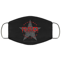 RED Remember Everyone Deployed Face Cover Accessories Black One Size