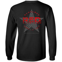 RED Remember Everyone Deployed Long-Sleeve T-Shirt T-Shirts CustomCat